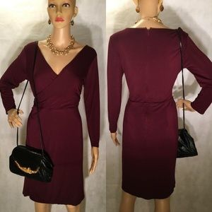 Full Outfit! Red Ann Taylor Dress & Accessories!